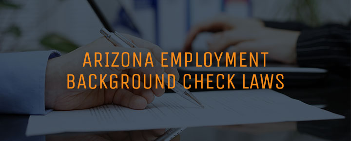 Background check laws in Arizona